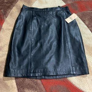 Women's Wilson's leather skirt